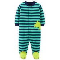 Child of Mine by Carter's Baby Boy Button-up Sleep 'N Play - Walmart.com