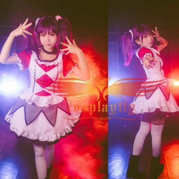 Cool LoveLive!SunShine!! Saint Snow Ria Kazuno Stage Dress Dancing Skirt Girls Outfit Cosplay Costume W1037-1AT_93_12