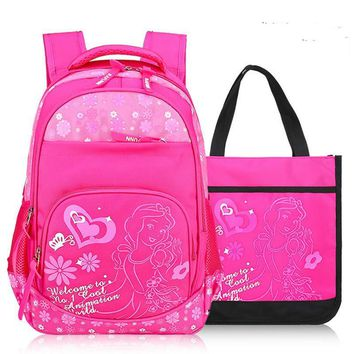 children school bags printing backpack orthopedic schoolbags School backpacks Boys&Girls Primary School Backpack kids backpacks