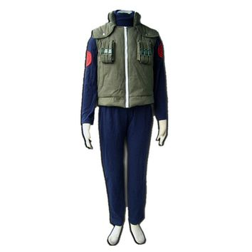 Naruto Sasauke ninja NEW Anime  Ninja Hatake Kakashi Vest Cosplay Costume Cos Fancy Party   AT_81_8