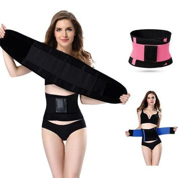 ac PEAPO2Q Hot shapers women slimming body shaper waist Belt girdles Firm Control Waist trainer corsets  Shapswear modeling strap