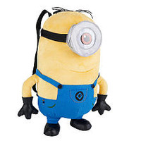 Despicable Me 2 Plush Minion Jerry 13 inch Backpack
