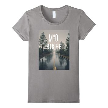 Moto Biker Motorcycle Forest Road Inspire Riding T-Shirt