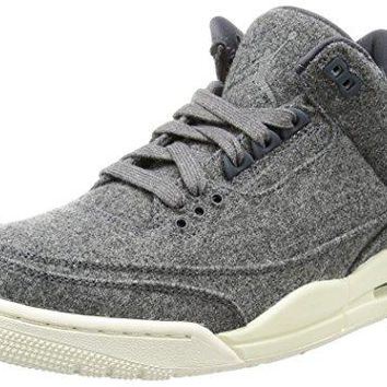 "Nike Mens Air Jordan Retro 3 ""Wool"" Basketball Shoes  air jordans retro"