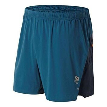 QIYIF new balance men s precision hybrid 6 inch running shorts