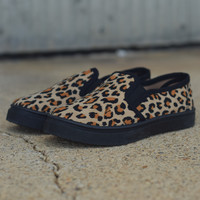 Boat Shoe by Fab Kickz {Cheetah}