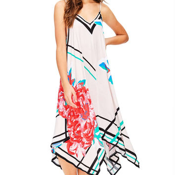 Dahlia Bloom Midi Dress