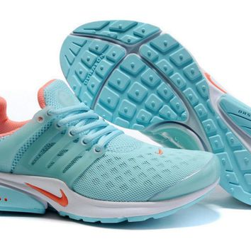 NIKE new leisure sports shoes Sky blue and white