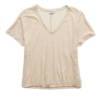 's V-neck T-shirt (Heather Fawn)