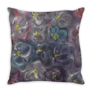 Purple Joy Design - Throw Pillows