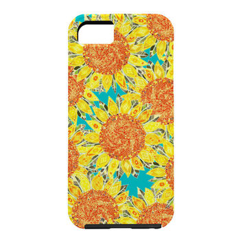 Sharon Turner Sunflower Field Cell Phone Case