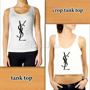 YSL Melissa 20  Custom Woman Crop Tank , Woman Tank Top , Man Tank Top