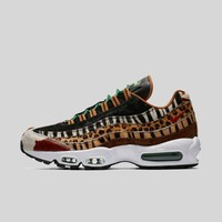 AUGUAU Nike x atmos AIR MAX 95 DLX PONY/SPORT RED-BLACK-CLASSIC GREEN Black Box (Pre-order)
