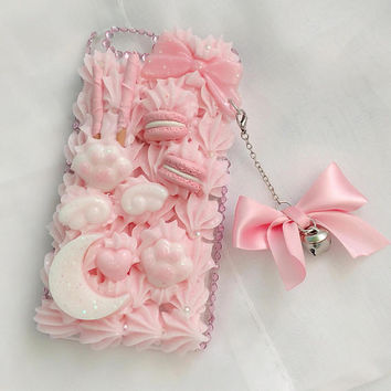 Pastel Pink iPhone 6/6s Decoden Case