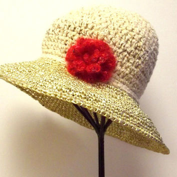 Best Crochet Summer Hat With Brim Products on Wanelo f08c5805b825