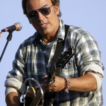 """Bruce Springsteen Poster Playing Guitar 16""""x24"""""""