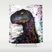 Clever Girl Shower Curtain by DizzyNicky