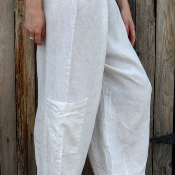 Casbah Pant - Cream by Bryn Walker