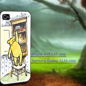 iphone 5 case,iphone 4/4s case,Winnie the Pooh,accesories,samsung s3 case,samsung s4 case,cover