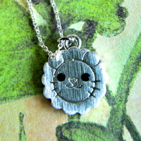 Sun Flower Lion Necklace