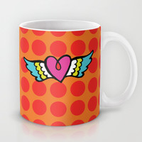 Kisses Even To The Air Are Beautiful Mug by Gigglebox