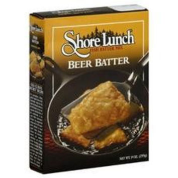 Shore Lunch Breading Mix Beer Batter (12x12-9 Oz)