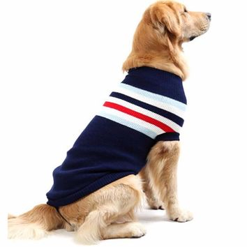 Knit sweater Breathable Winter Dog Hoodies