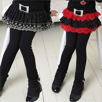 NEW junior girls leggings teen clothes girls skirt-pants fashion belt fleece winter leggings for kids pant trousers 4-12Year