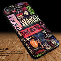 Broadway Musical Poster on Nebula DOP1182 iPhone 6s 6 6s+ 5c 5s Cases Samsung Galaxy s5 s6 Edge+ NOTE 5 4 3 #music #wkd