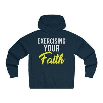 Exercising Your Faith - Adult Hoodie