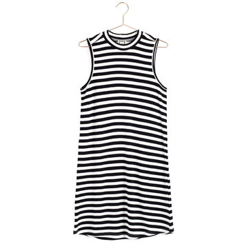 Knit Striped Sleeveless Dress