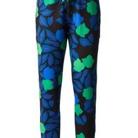 P.A.R.O.S.H. 'Prinad' floral track pants