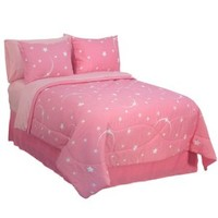 Veratex Stellar Full Comforter Set Pink