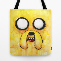 Jake Tote Bag by Olechka