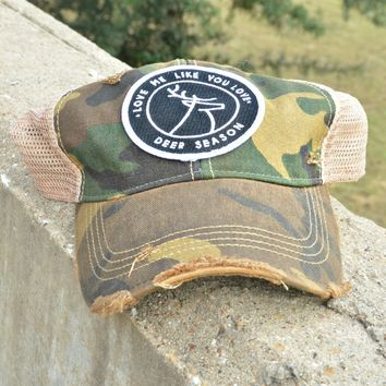 Judith March Deer Season Cap - Camo