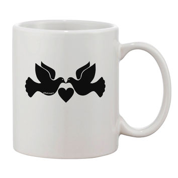 Two Turtle Doves Printed 11oz Coffee Mug