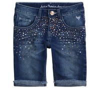 Embellished Bermuda Shorts | Bermuda 8  Inseam | Shorts | Shop Justice