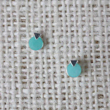 Circle Arrow Earrings
