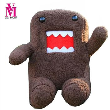 20cm DomoKun Funny Domo-kun Doll Children Novelty Item Creative Gift The Kawaii Stuffed Plush Toy For Baby Kids Free Shipping