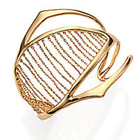 Alexis Bittar - Miss Havisham Kinetic Chain-Ribbed Cuff Bracelet - Saks Fifth Avenue Mobile