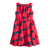 GIRLS' FLOATING HEARTS DRESS