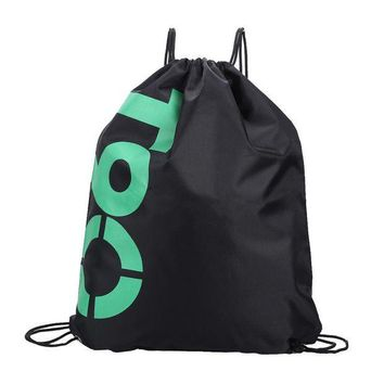 ONETOW 34*42cm Double Layer Drawstring Waterproof Backpacks Colorful Shoulder Bag Swimming Bags for Outdoor Sports