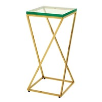 Gold Side Table | Eichholtz Clarion