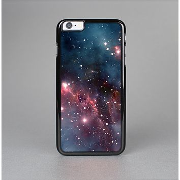 The Bright Pink Nebula Space Skin-Sert for the Apple iPhone 6 Plus Skin-Sert Case