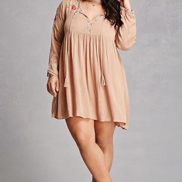 Plus Size Velzera Floral Dress