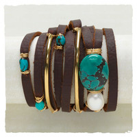 The Rich  The Rustic Wrap Bracelet