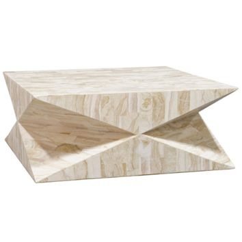 Palecek Triton Stone Coffee Table