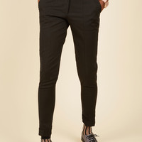 Situationally Savvy Pants in Black | Mod Retro Vintage Pants | ModCloth.com