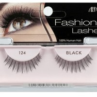 Ardell Fashion Lashes Pair - 124 Black (Pack of 4)