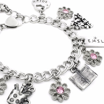 Girls Back to School Bracelet
